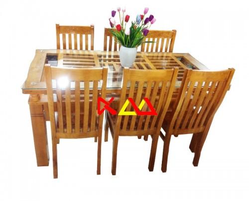 Bộ bàn ăn 6 ghế giá rẻ khu vực tại tphcm - kim minh giảm giá 45 %