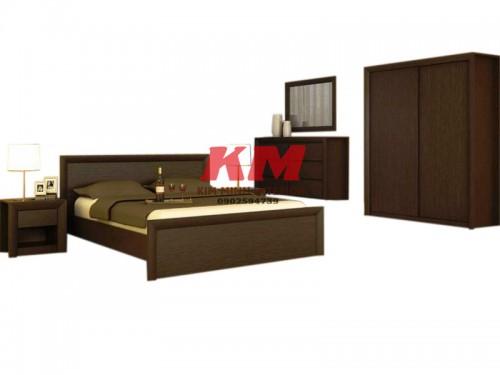 Bộ Phòng Ngủ Gỗ Xoan Đào BNXD005