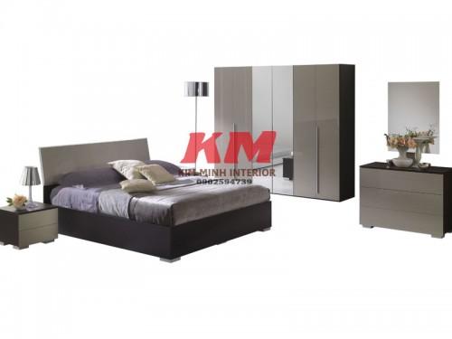 Bộ Phòng Ngủ Gỗ Xoan Đào BNXD006