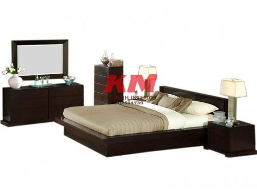 Bộ Phòng Ngủ Gỗ Xoan Đào BNXD012