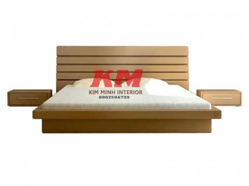 Giường Ngủ Kiểu Nhật Gỗ Sồi Cao Cấp GNKN011