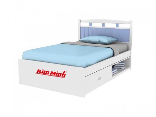 Giường Đơn Dạng Hộp Có Hộc Tủ Đựng Lớn Tiện Lợi GD010