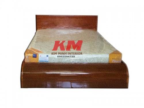 Giường Ngủ 1M6 Gỗ Lim Tự Nhiên Giá Rẻ GNGL003