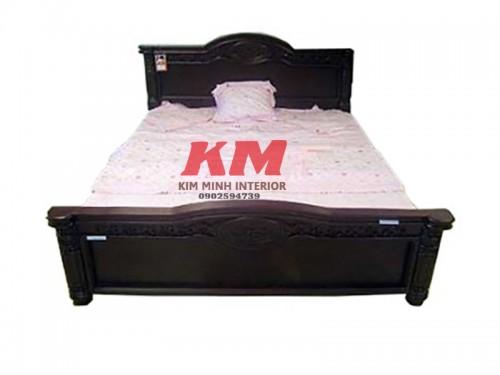 Giường Ngủ Cổ Điển Gỗ Xoan Đào 1M6 GNCD005