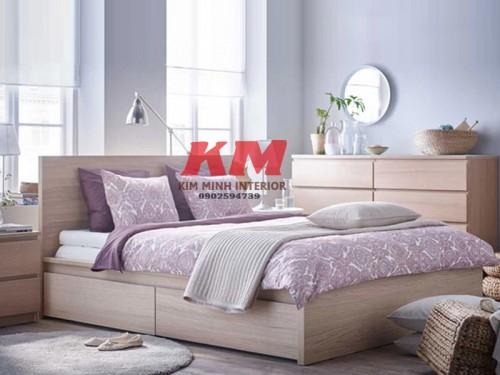 Giường Ngủ Cực Đẹp Cho Khách Sạn GNKS003