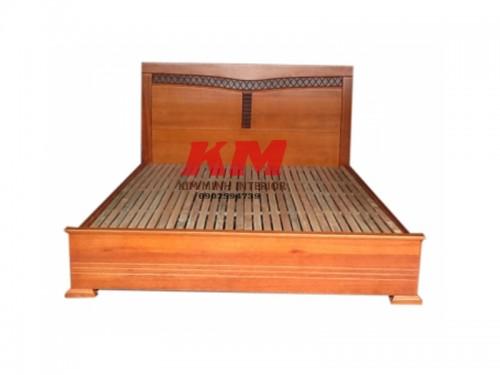 Giường Ngủ Gỗ Căm Xe Cao Cấp GNCX021