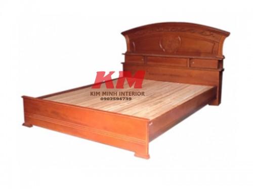 Giường Ngủ Gỗ Căm Xe GNCX019
