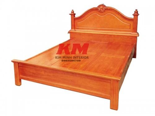 Giường Ngủ Gỗ Căm Xe Phản 1M6x2M Đẹp Cao Cấp GNCX023