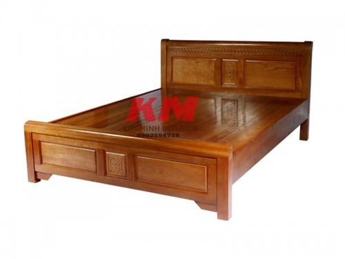 Giường Ngủ Gỗ Lim Đẹp Giá Rẻ GNGL001