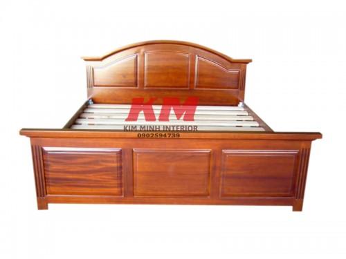 Giường Ngủ Gỗ Lim Giá Rẻ 1M6 GNGL005