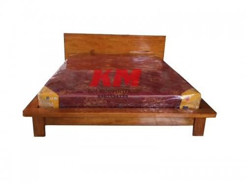 Giường Ngủ Gỗ Lim Tự Nhiên Cực Đẹp GNGL002