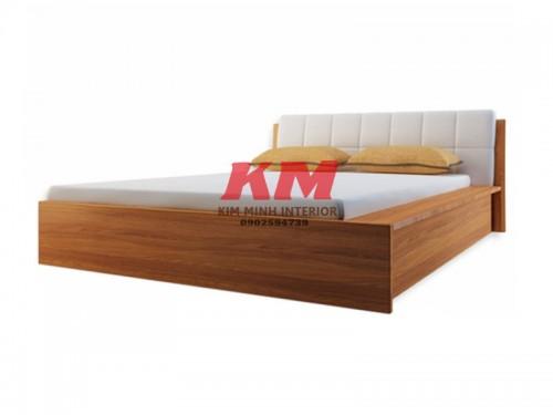 Giường Ngủ Gỗ MDF Bọc Nệm GNCN090