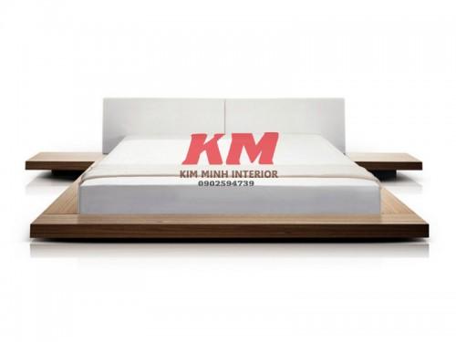 Giường Ngủ Gỗ MDF GNCN053