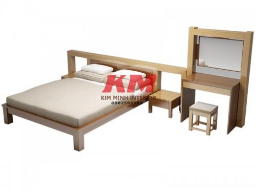 Giường Ngủ Gỗ MDF Hiện Đại GNCN081