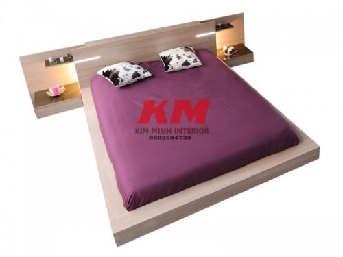 Giường Ngủ Gỗ MDF Hiện Đại GNCN085