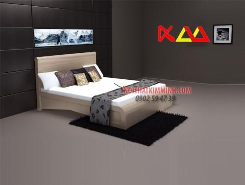 Giường ngủ gỗ Sồi cao cấp GNGS015