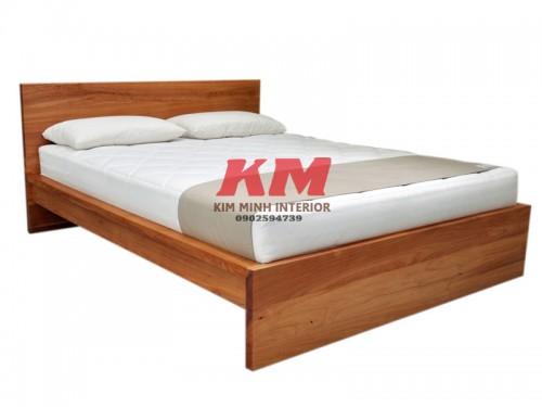 Giường Ngủ Gỗ Sồi GNS085