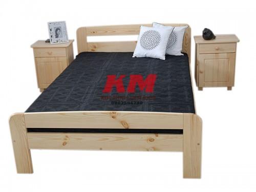 Giường Ngủ Gỗ Sồi GNS087