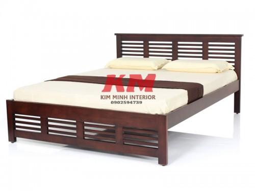 Giường Ngủ Gỗ Sồi GNS090