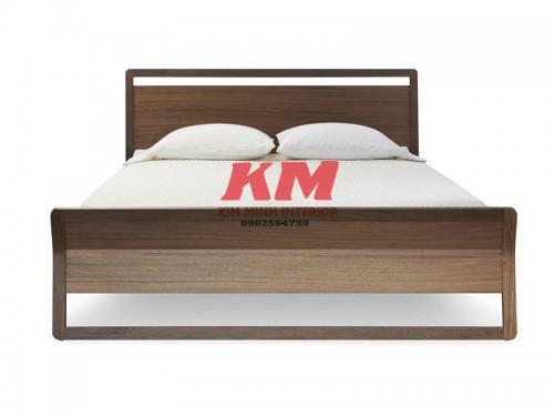 Giường Ngủ Gỗ Sồi Hiện Đại GNS062