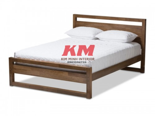Giường Ngủ Gỗ Sồi Hiện Đại GNS080