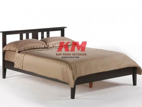 Giường Ngủ Gỗ Sồi Hiện Đại GNS091