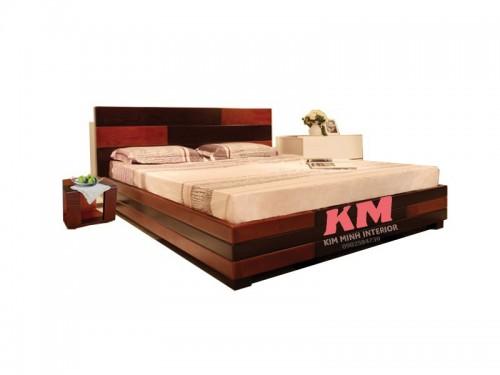 Giường Ngủ Gỗ Xoan Đào Hiện Đại GNXD007