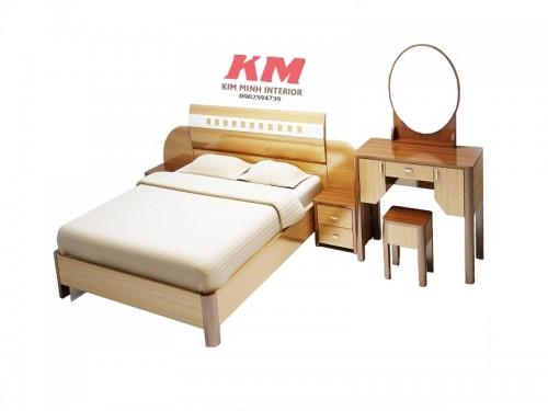 Giường Ngủ Khách Sạn Đẹp Và Sang Trọng GNKS009