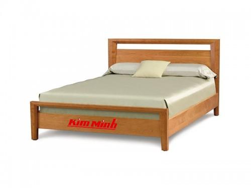 Giường Ngủ Kiểu Hàn Quốc Gỗ Sồi Tự Nhiên GNHQ003 Đẹp Giá Rẻ