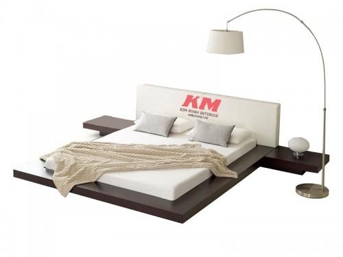 Giường Ngủ Kiểu Nhật Đơn Giản Giá Rẻ GNKN027