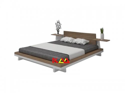 Giường Ngủ Kiểu Nhật Hiện Đại Sang Trọng GNKN004