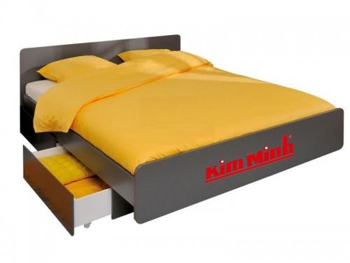 Giường Ngủ Kiểu Nhật Gỗ Xoan Đào Có HộcTủ Kéo GNKN037