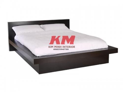 Giường Ngủ Gỗ MDF Kiểu Nhật GNCN026
