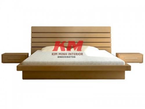 Giường Ngủ Nhật 1M6 Gỗ Căm Xe GNKN020