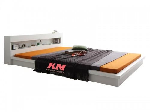 Giường Ngủ Phong Cách Nhật Giá Rẻ GNKN028