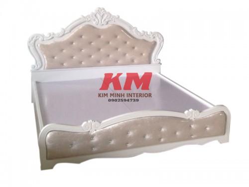 Giường Ngủ Tân Cổ Điển 1.6m x 2m GNTCD010