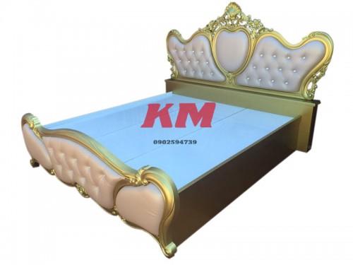 Giường Ngủ Tân Cổ Điển 1.6m x 2m GNTCD001