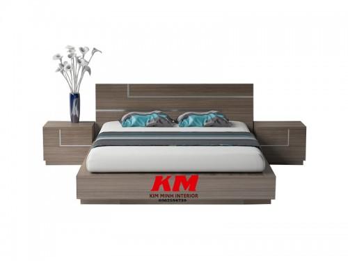 Giường Ngủ Thiết Kế Hiện Đại Gỗ MDF - MFC GNHD015