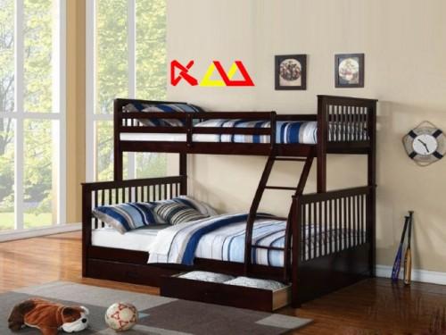 Giường Ngủ Trẻ Em 2 Tầng Giá Rẻ GNT005