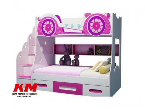 Giường ngủ trẻ em 2 tầng GNTE042