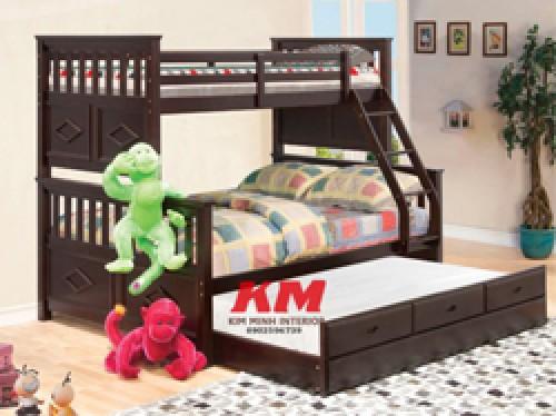 Giường Ngủ Trẻ Em 3 Tầng GNT029