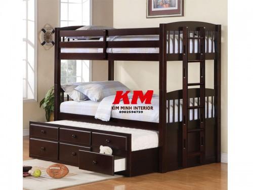 Giường Ngủ Trẻ Em 3 Tầng GNT011