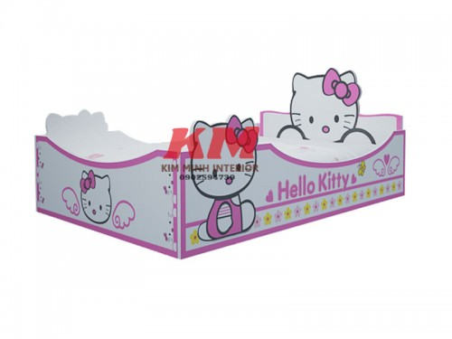 Giường Ngủ Trẻ Em Hello Kitty GNTE068