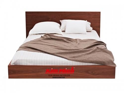Giường Nhật Gỗ Xoan Đào Tự Nhiên GNKN033