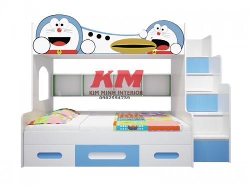 Giường Tầng Trẻ Em  Doremon GTTE085