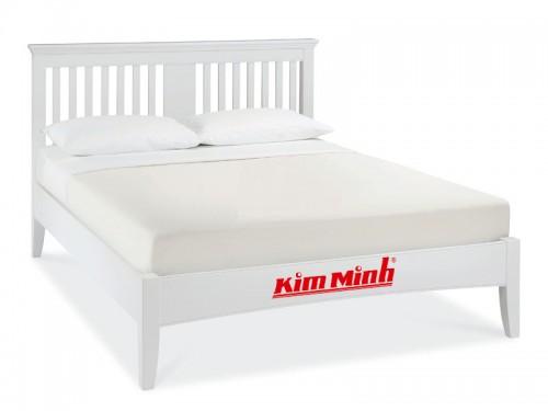 Mẫu Giường Ngủ Đẹp Gỗ Xoan Đào Thiết Kế Đơn Giản GND003