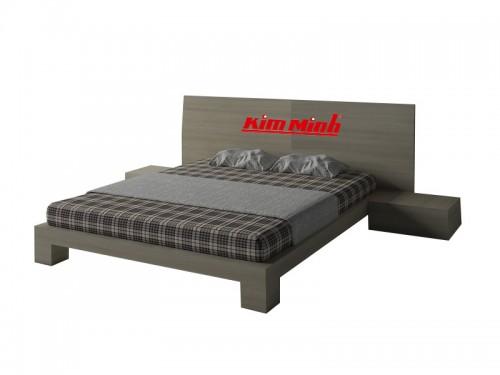 Mẫu Giường Ngủ Đẹp Phong Cách Hiện Đại Gỗ MDF GND006