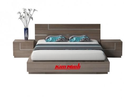 Mẫu Giường Ngủ MDF - MFC Đẹp Phong Cách Hiện Đại GND016