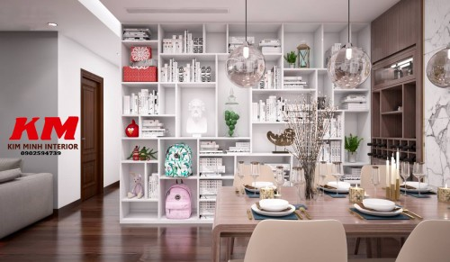 Thiết kế chung cư phòng bếp TKTCCCB001
