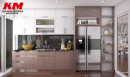 Thiết kế chung cư phòng bếp TKTCCCB002